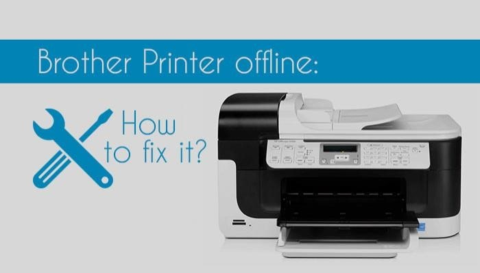 brother printer offline window 10